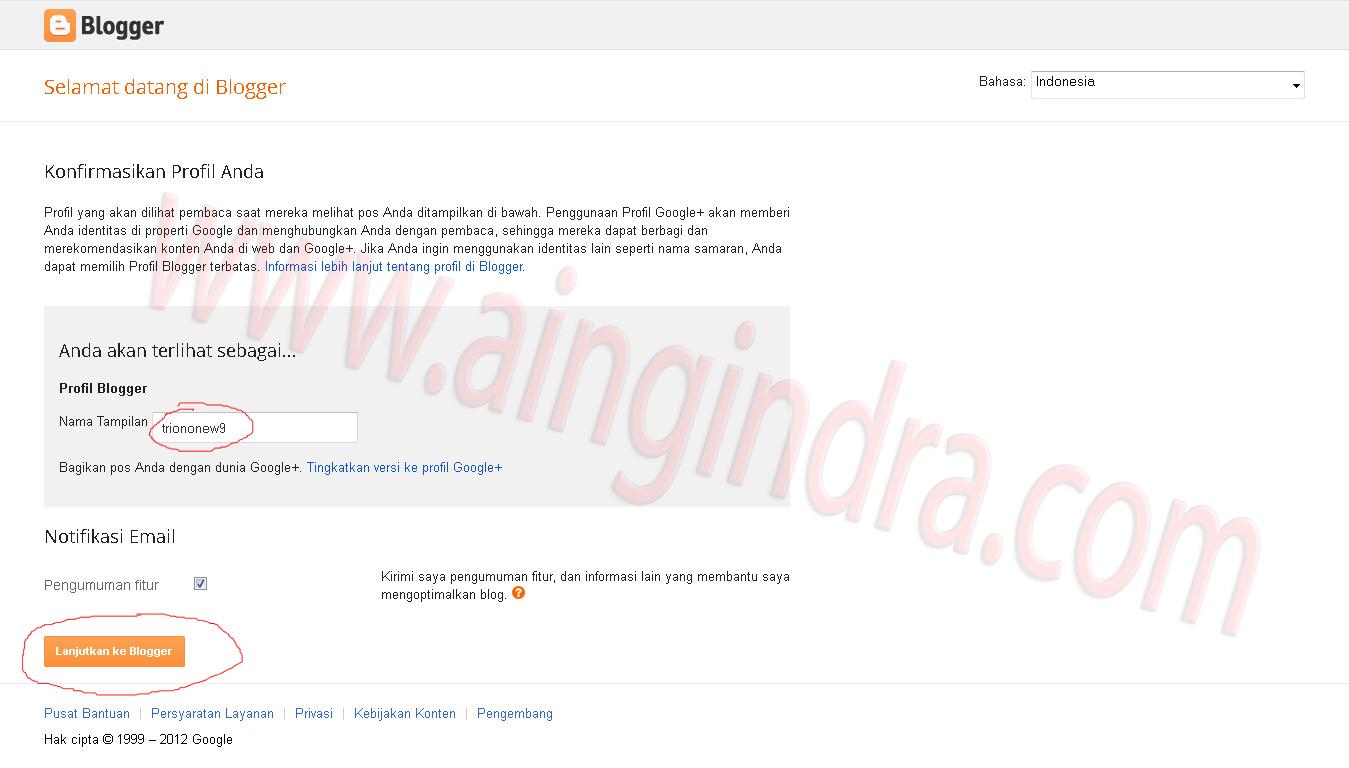 Caramembuatblog Profilbloggerjpeg